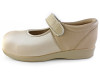 501 Beige Mary Jane Instep View