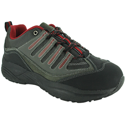 Genext® Women's Hiker Grey/Red Oblique Profile