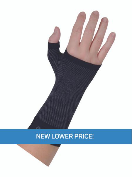 OrthoSleeve Wrist Compression Sleeve Black