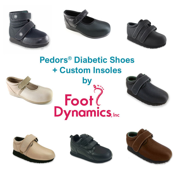 Custom Insoles + Diabetic Shoes From  Foot Dynamics