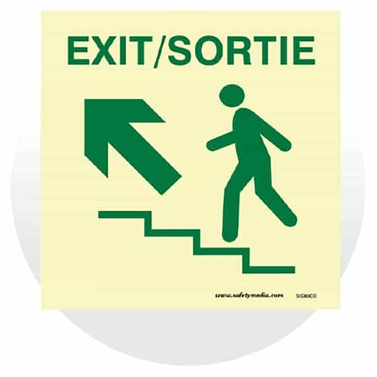Stairwell Pathmarking Signs