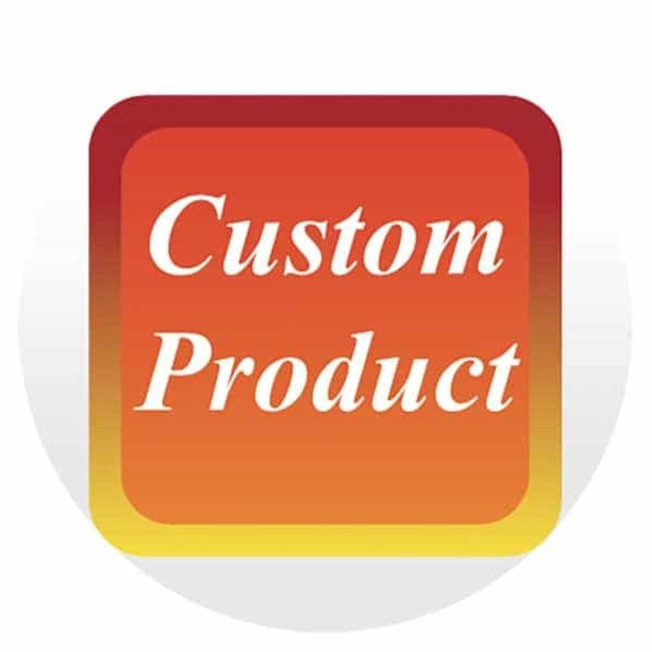 """12x18"""" or 18x24"""" Custom Aluminum Sign"""
