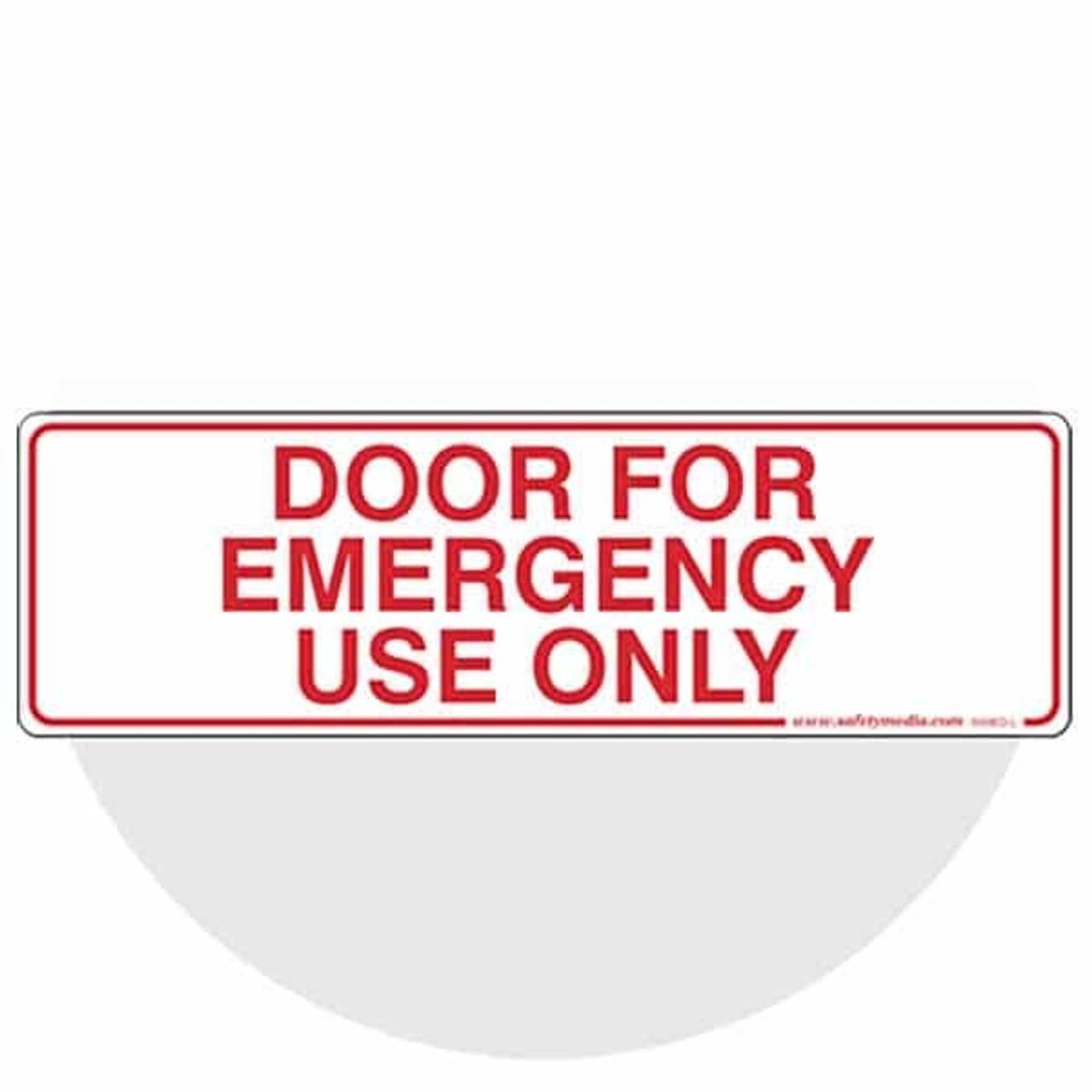 """Emergency Exit"""" & Mag Lock Signs"""