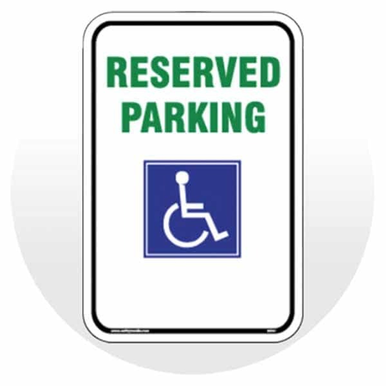 Accesible Parking Signs