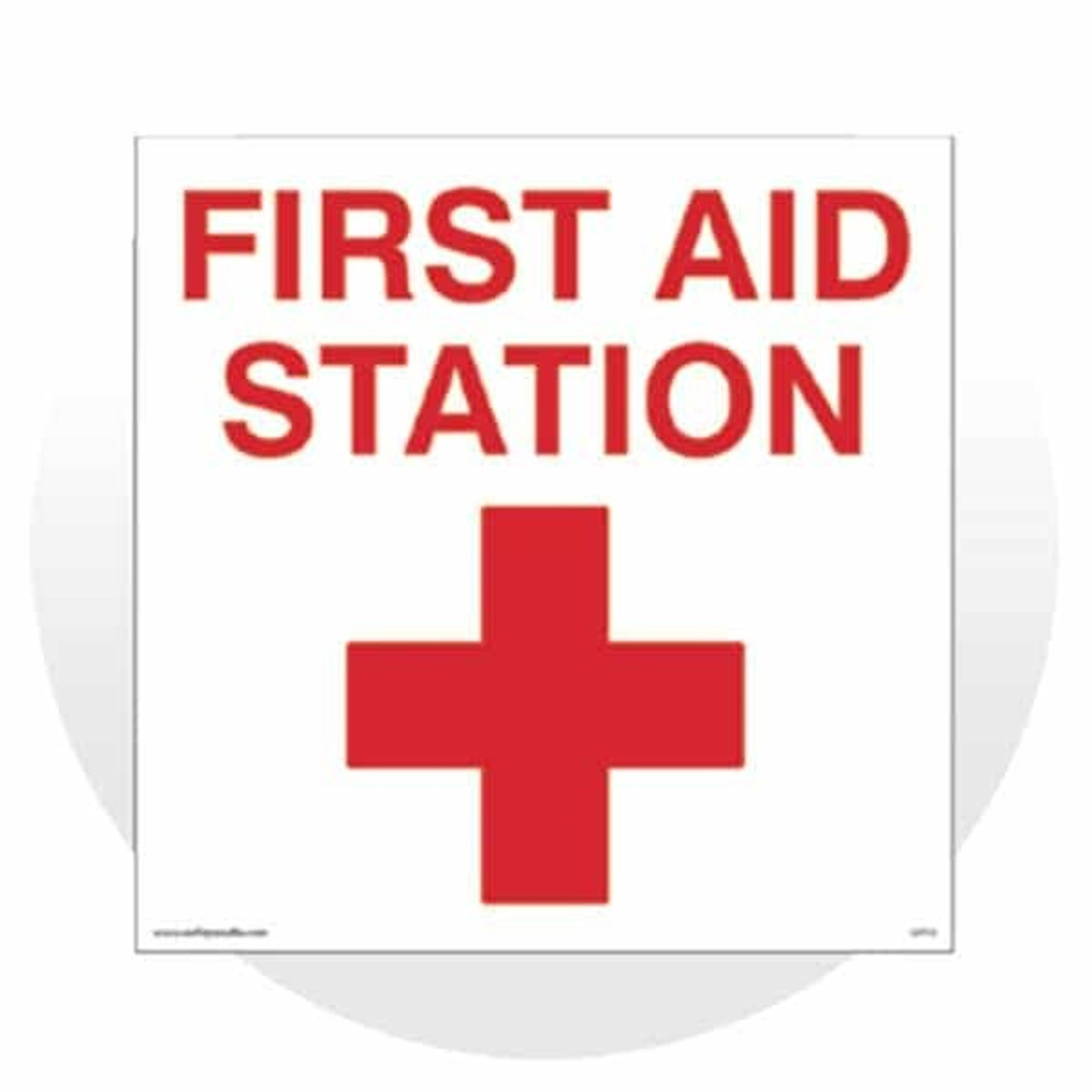 First Aid Response, Eyewash & SDS Signs