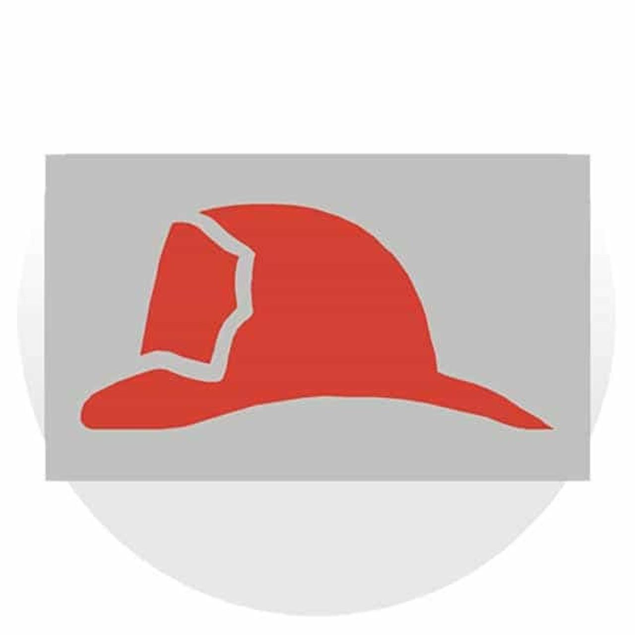 Do Not Use Elevator & Firefighter's Helmet Signs