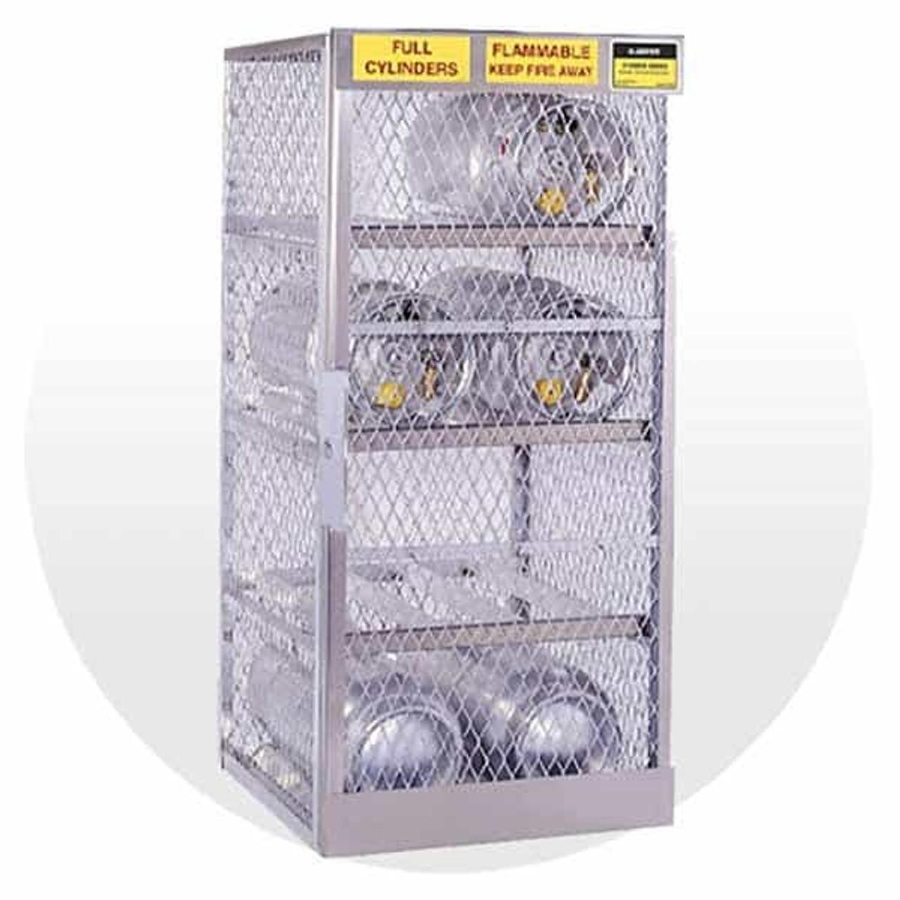 LP & Oxygen Gas Cylinder Storage Cabinets