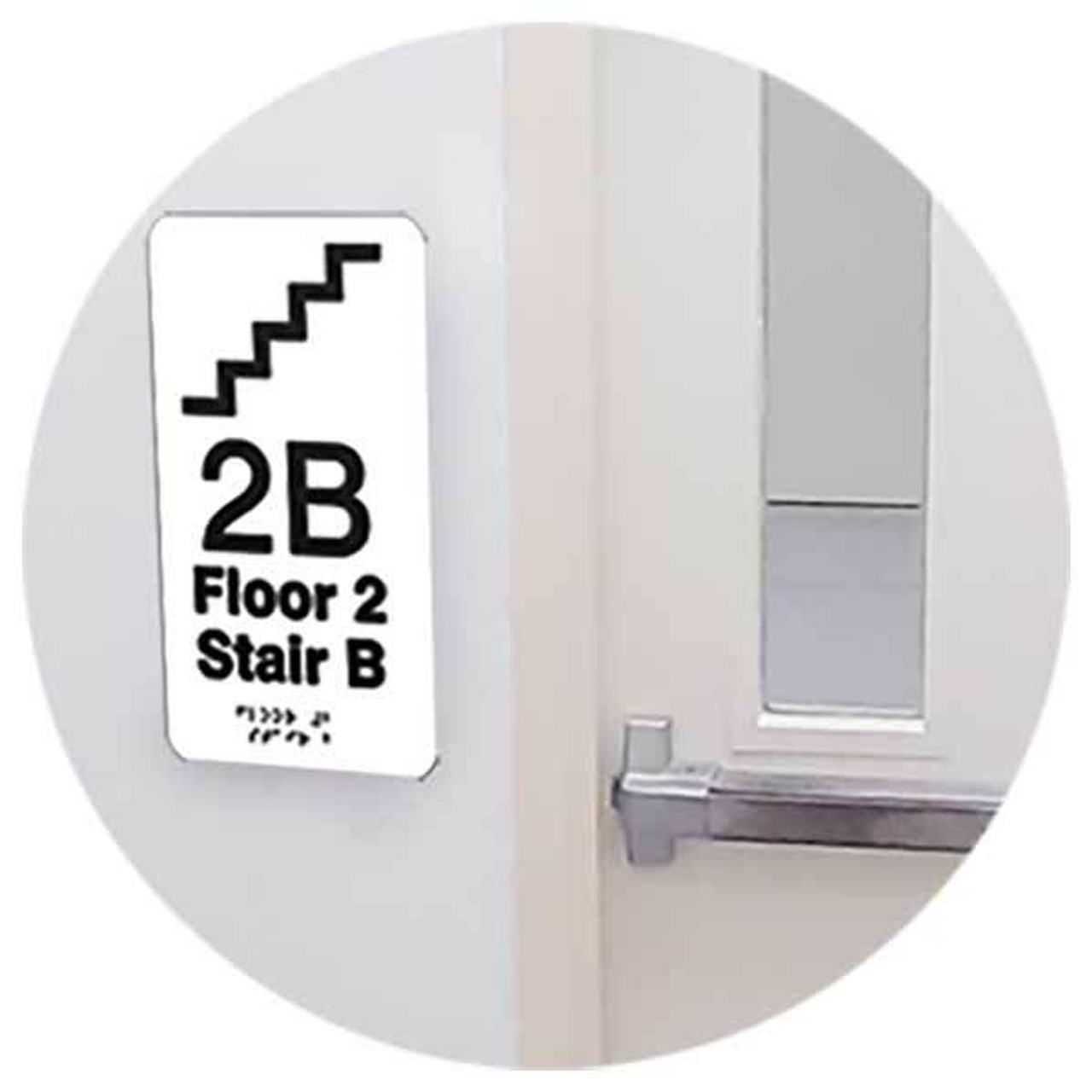 Tactile Signs and Floor Identification Markers