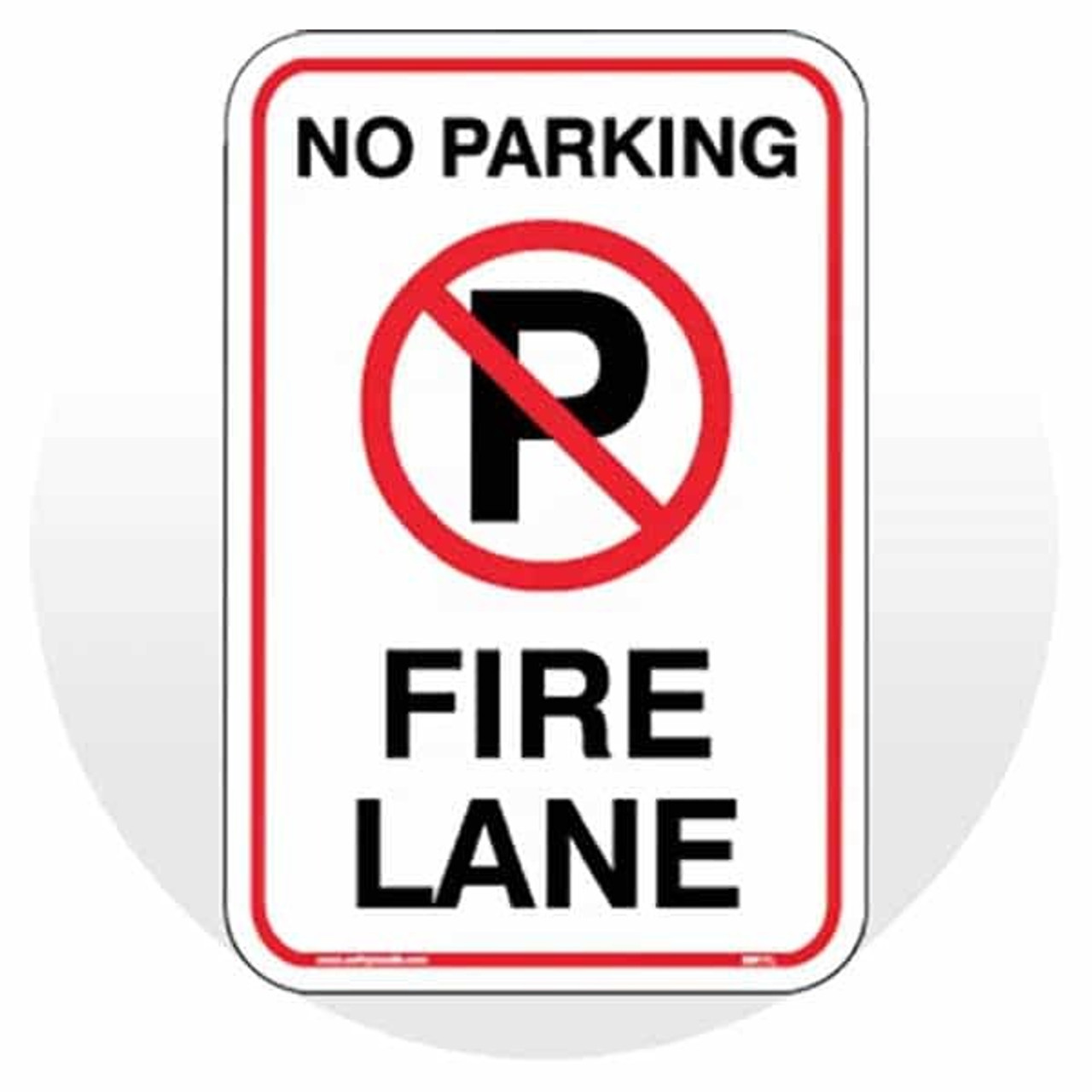 Fire Route & No Parking Signs