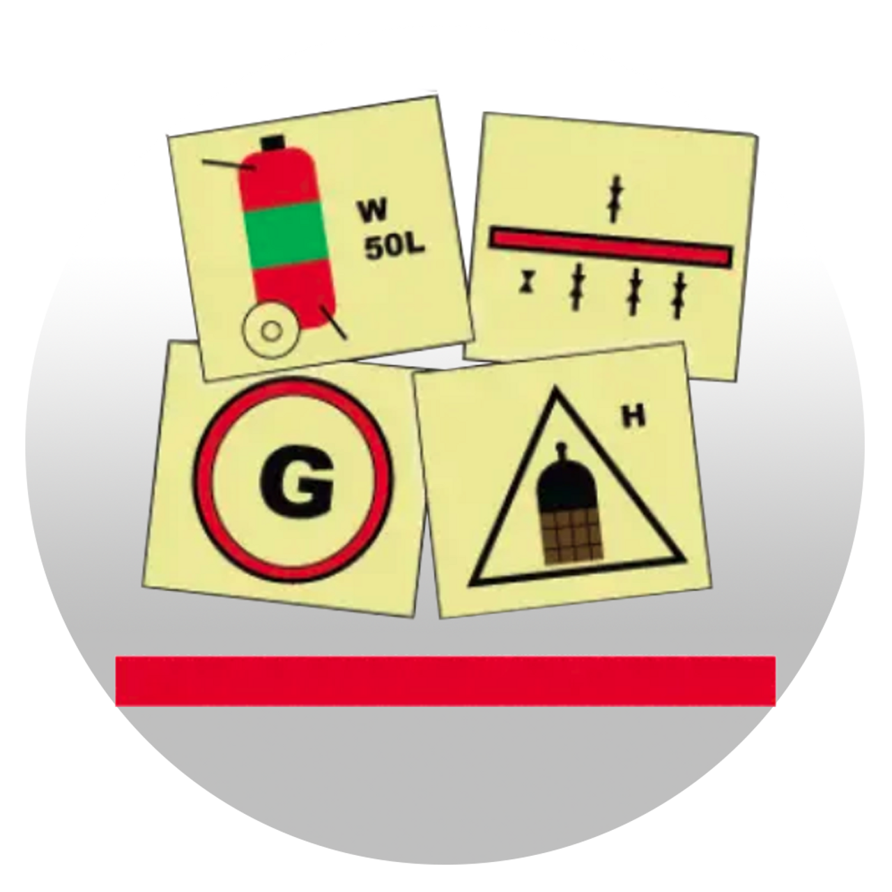 Signs for Fire Protection Appliances