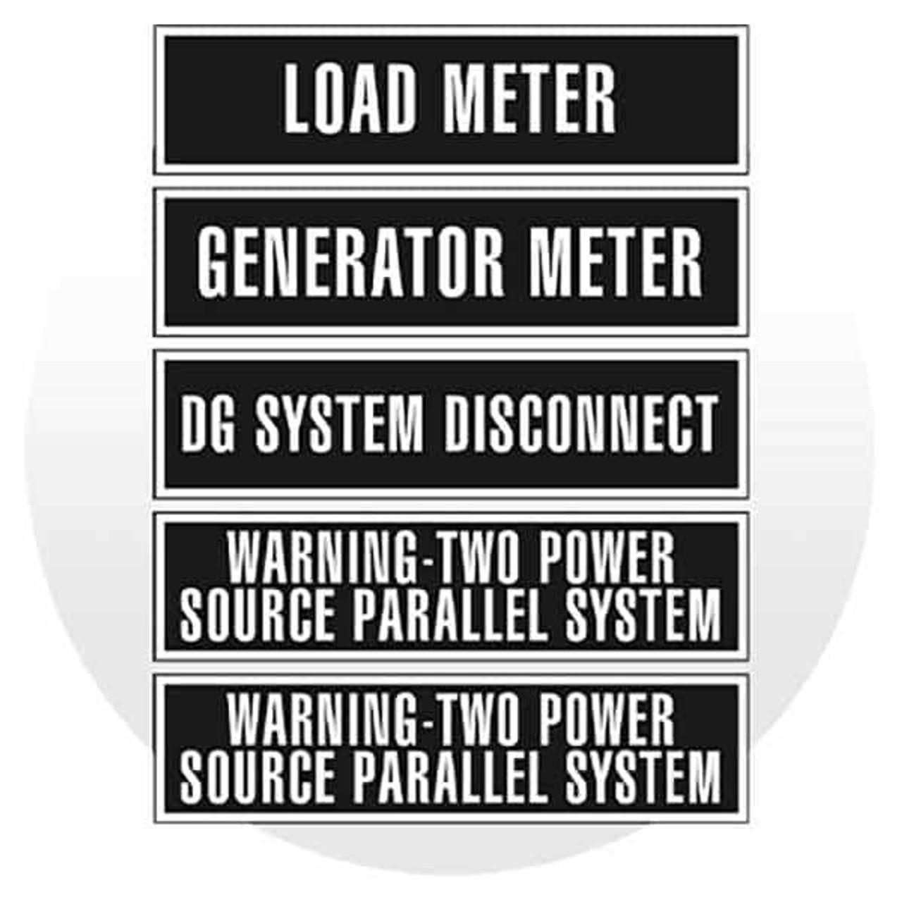 Utility Signage