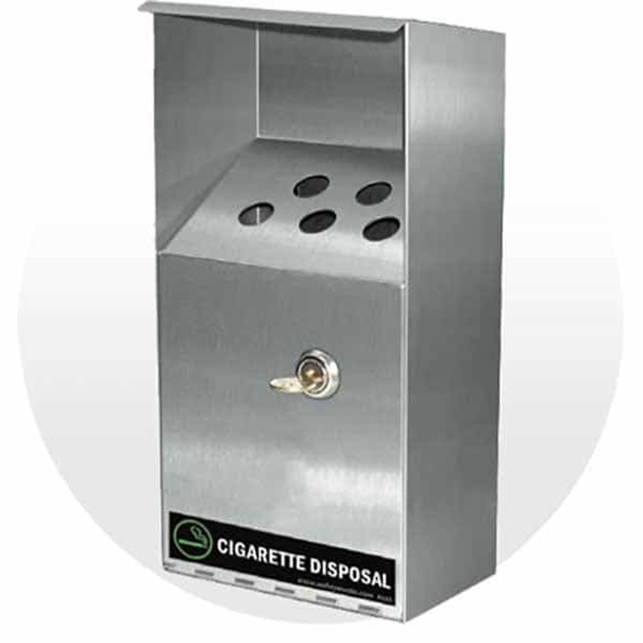 Cigarette Disposal Containers & Fireproof Apron