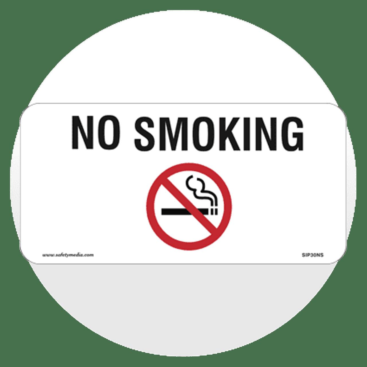 Generic No Smoking Signs