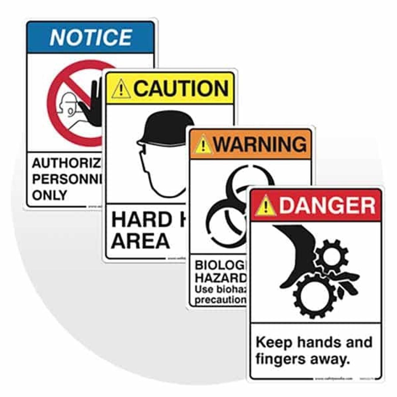 ANSI Safety Signs