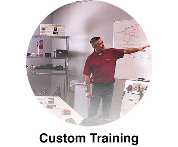 Custom Training Page Link
