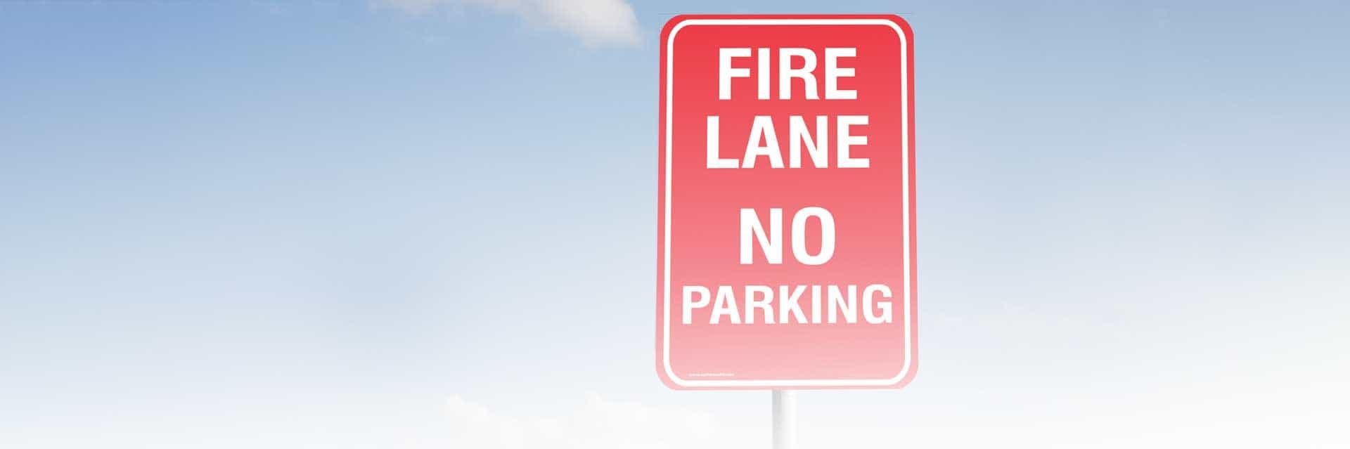 Regulatory Signage Banner Image