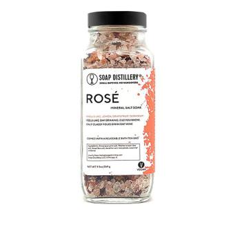 Rose Salt Soak