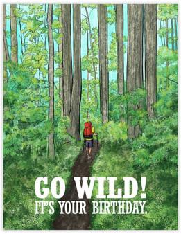 Card - Go Wild Birthday