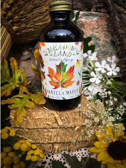 Vanilla Maple-Simple Syrup
