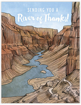 Card - River of Thanks