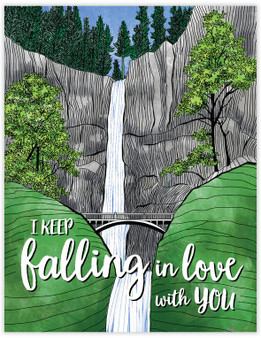 Card - Falling in Love