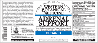Adrenal Support Tincture - 2oz