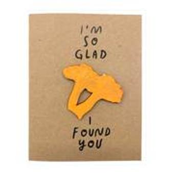 So Glad I Found You Card + Magnet
