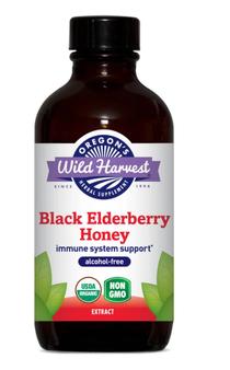 Black Elderberry Honey