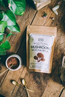 Mushroom Mocha Milk-8 oz