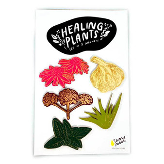 Healing Plants Magnets - 5