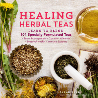 Healing Herbal Teas - Book