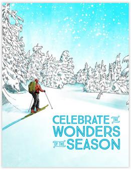 Wonders of the Season card