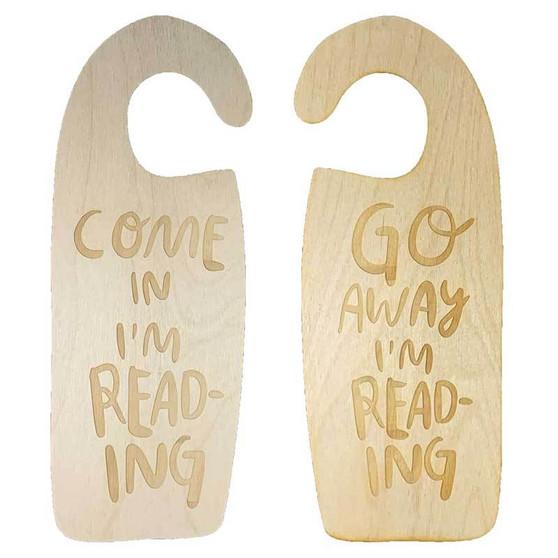 I'm Reading Door Hanger