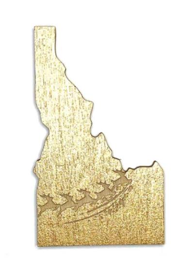 Idaho Reindeer Card