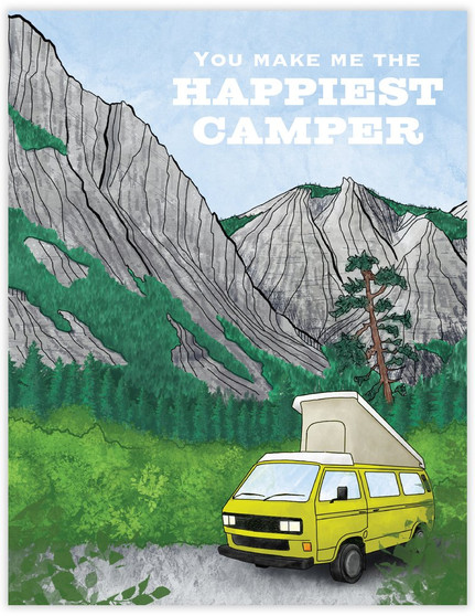 Card - Happiest Camper