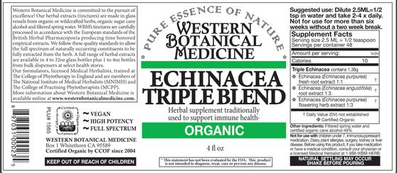 Echinacea Triple Blend Tincture - 2oz