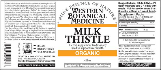 Milk Thistle Tincture - 2oz