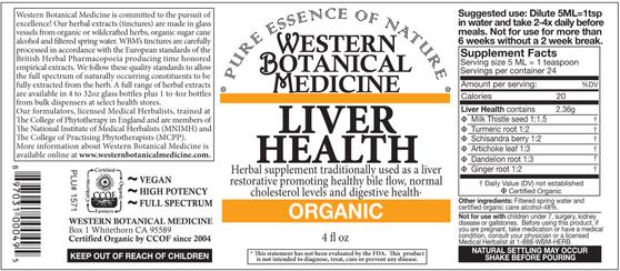 Liver Health Tincture - 2oz