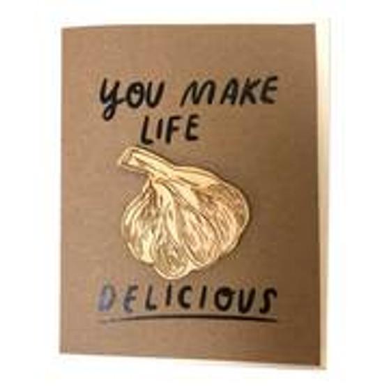 Card - Garlic