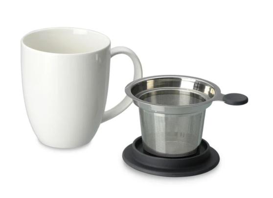Uni Brew-in-Mug with Infuser & Lid 16oz.