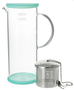 Lucent Glass Iced Tea Jug w/ infuser