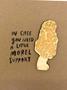 Morel Support Card + Magnet