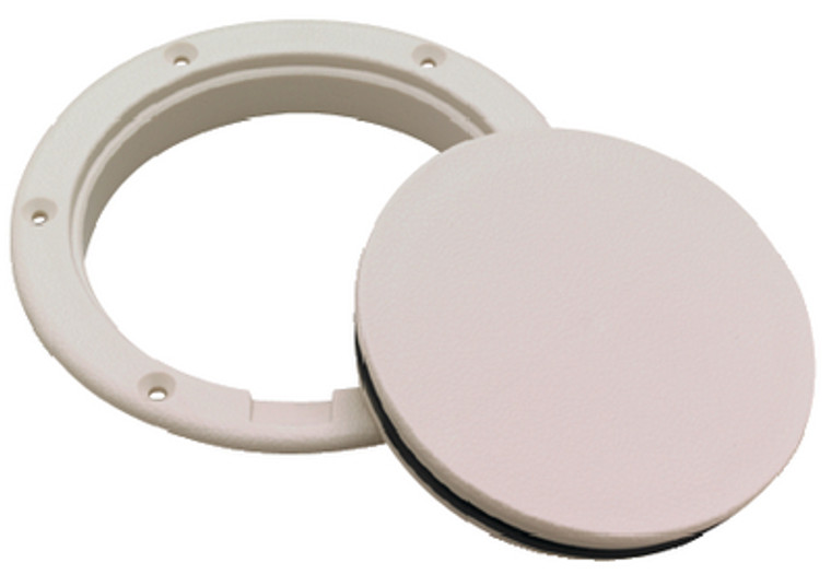 PRY-UP DECK PLATE-6 ARTIC WHT PRY-UP DECK PLATE (SEACHOICE)