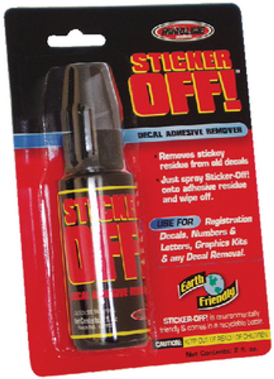 DECAL ADHESIVE REMOVER STICKER OFF DECAL ADHESIVE REMOVER (HARDLINE PRODUCTS)