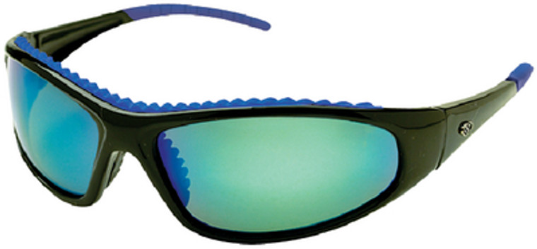 WAHOO BLUE MIRROR SUNGLASS WAHOO POLARIZED SUNGLASSES (YACHTER'S CHOICE)