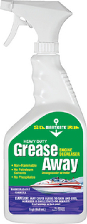 GREASE AWAY - QT GREASE AWAY ENGINE DEGREASER (MARIKATE)