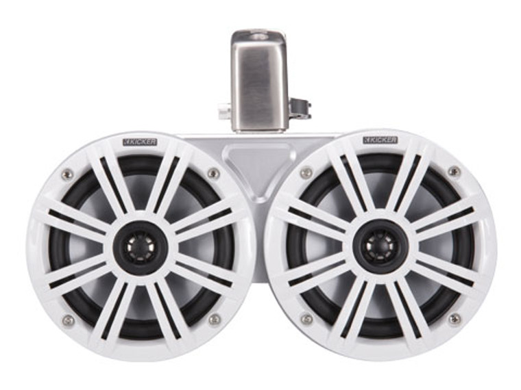 "KMTDC 6.5"" White Coaxial Tower System"