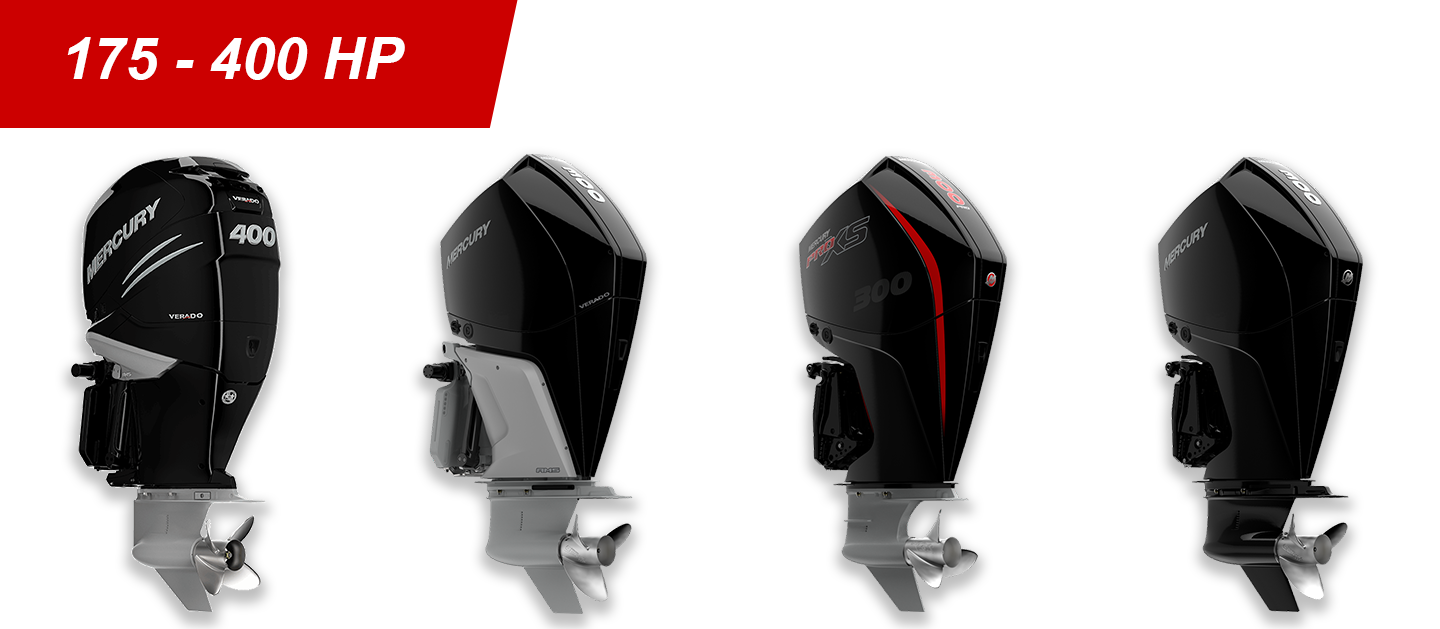 175-400hp Mercury Outboards