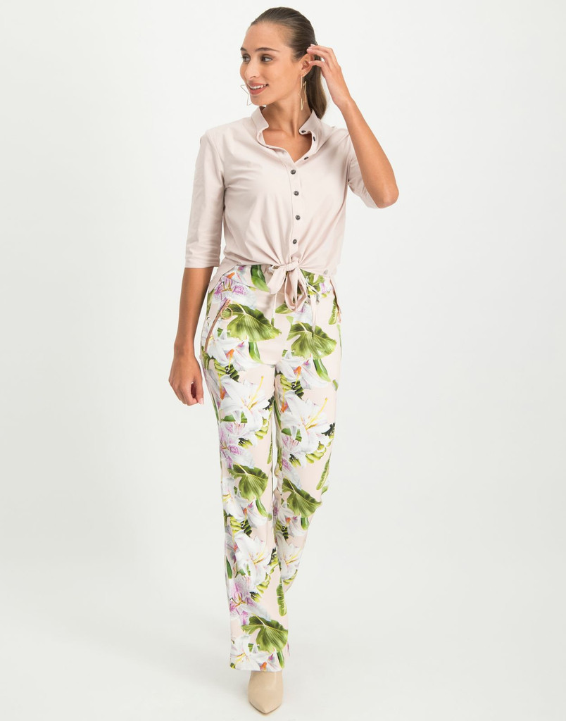 Izzy Lilly Trousers by Jane Lushka - Women's Clothing