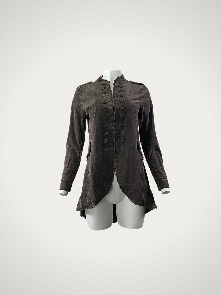 Jacket Frayed 219817